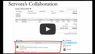 Collaborate with your Accountant and Sales Team